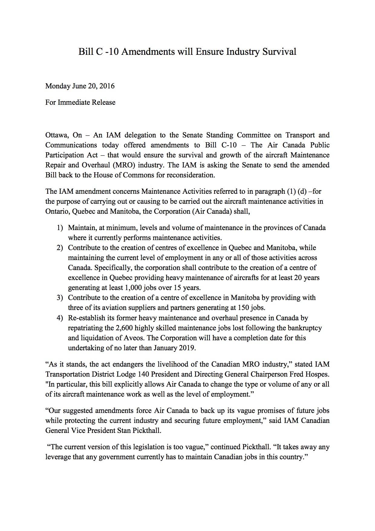 Bill C-10 release doc (2)