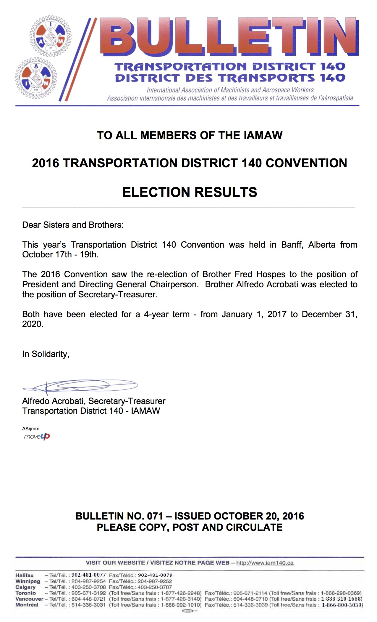 bulletin-071-district-lodge-convention-election-results-october-20-2016-english